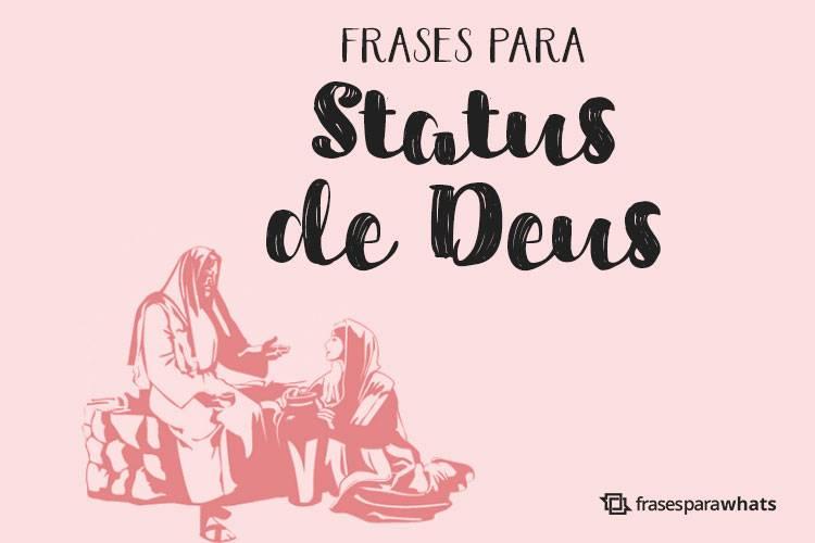 Frases para Status de Deus