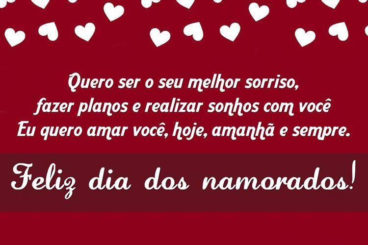 Feliz Dia Dos Namorados Amor Da Minha Vida Frases Para Whats