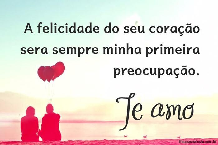 Te amo, Meu amor!