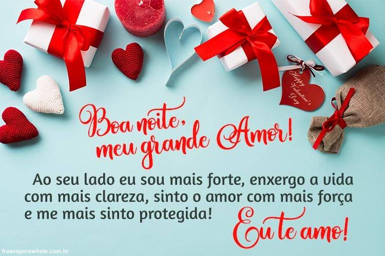 Boa Noite meu Grande Amor!