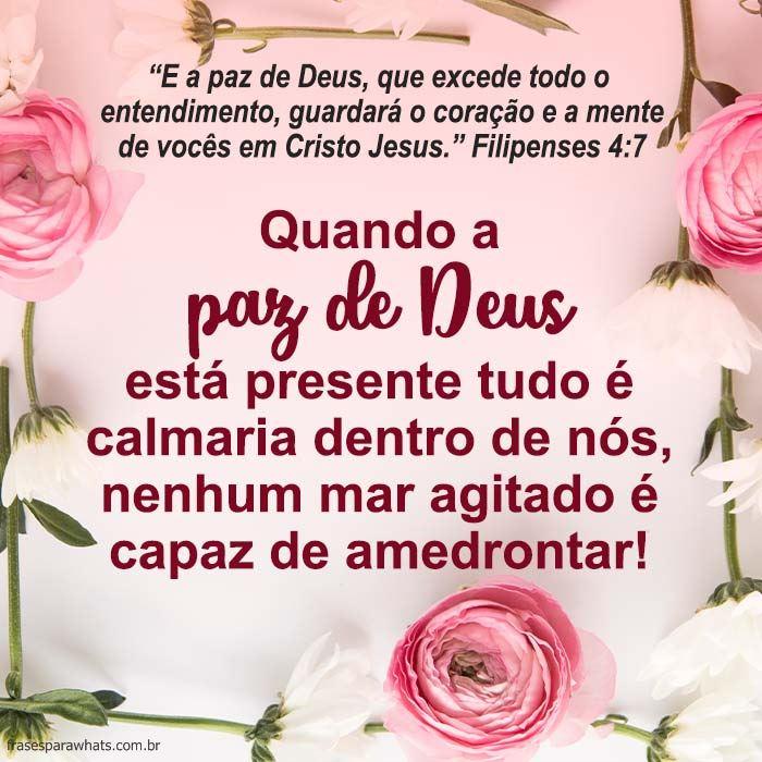 Mensagem Bíblica De Paz