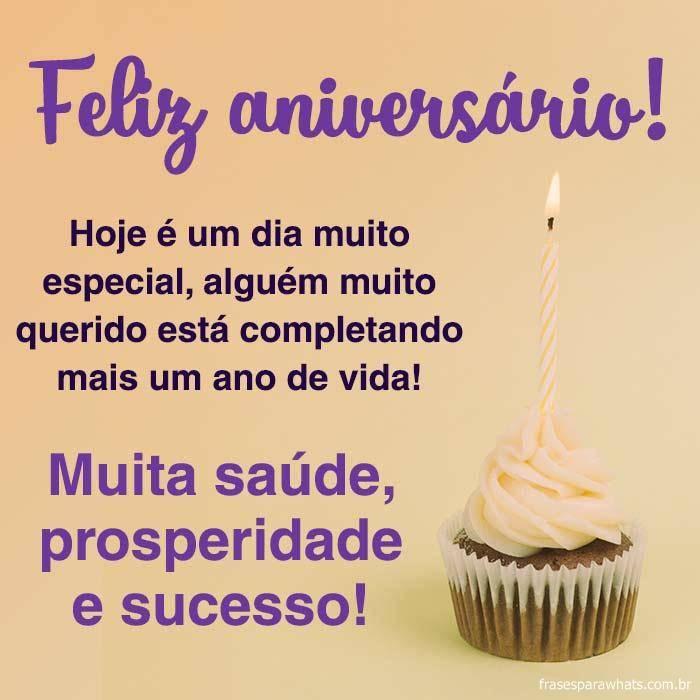 Feliz Aniversário! Muita Prosperidade!