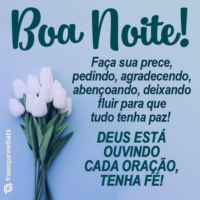 Boa noite com fé