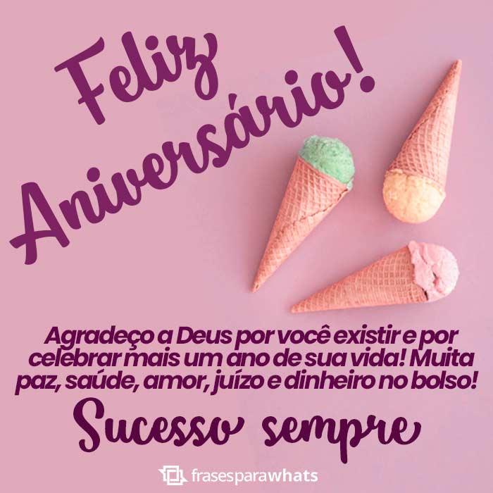 Feliz Aniversário Sucesso Sempre
