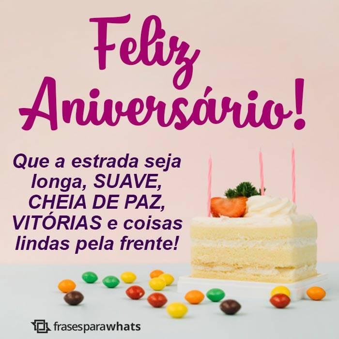 Felicitações pelo seu Aniversário