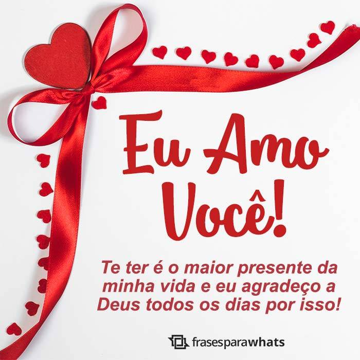 Eu Amo Você, meu Presente!