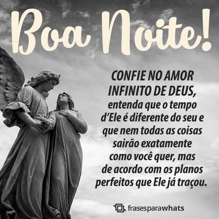 Boa Noite! Confie no Amor de Deus