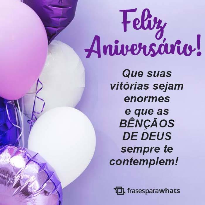 Feliz Aniversário com Bênçãos de Deus