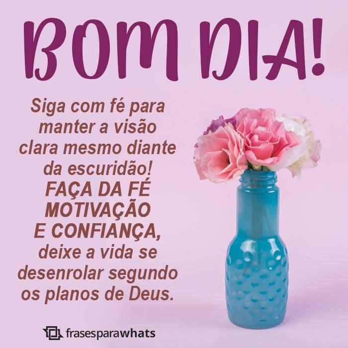 Bom Dia, Siga com Fé!