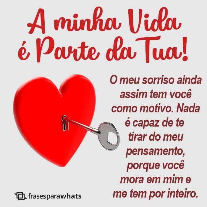 Minha Vida é Parte da Sua, Meu amor!