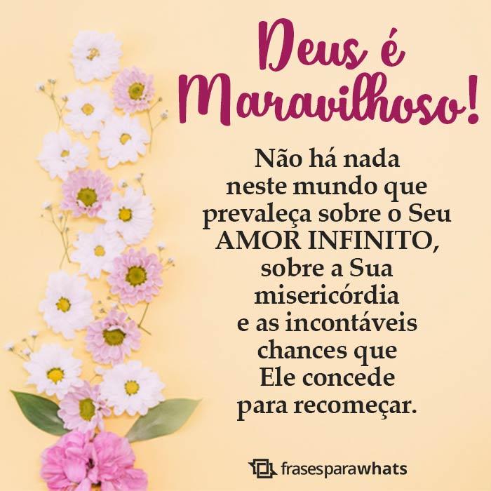 Nada Prevalece Sobre o Amor de Deus