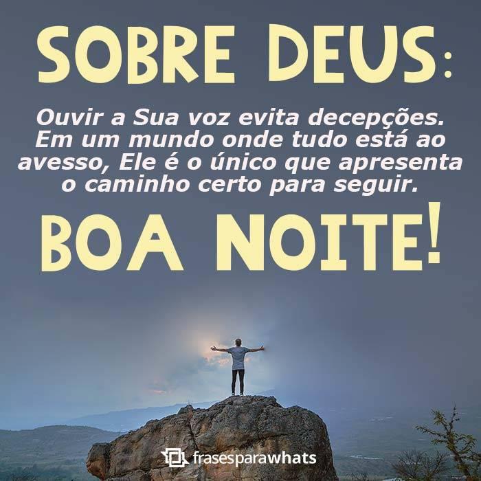 Boa Noite, Ouça Deus
