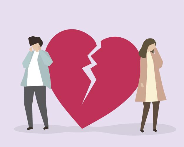 Frases de Coração partido para Juntar os pedaços