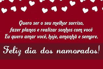Feliz Dia dos Namorados, Amor da minha Vida!