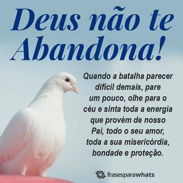 Deus não te Abandona