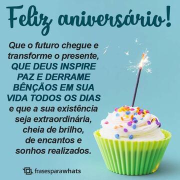 Feliz Aniversário, Que o Futuro Chegue