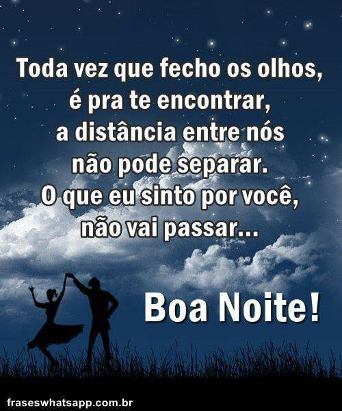 Boa Noite Amor, Saudades!