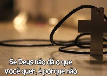 Deus sabe o que faz!