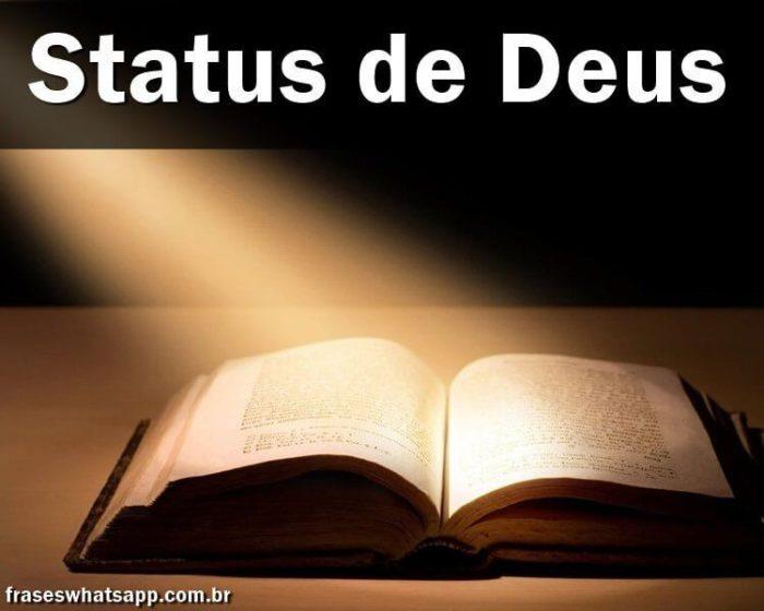 +120 Status de Deus!