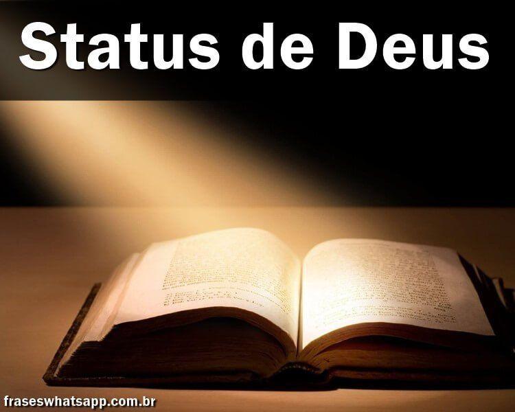 status para whatsapp de Deus de humildade