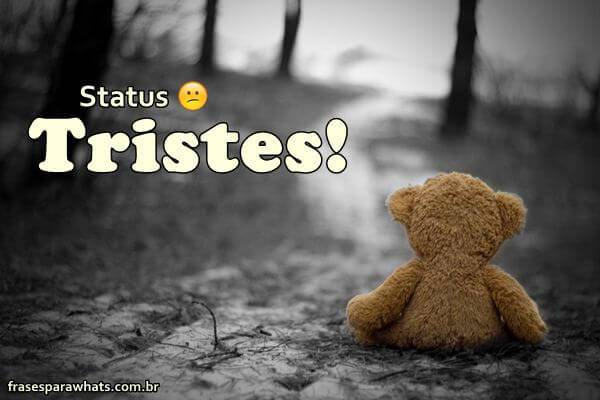 frases para status tristes e fofo