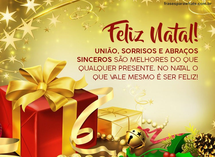 Feliz Natal Amigos Frases Para Whatsapp