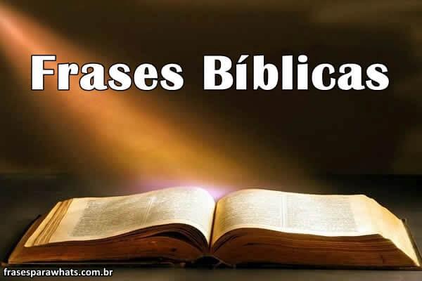 Frases Bíblicas : 60 Melhores