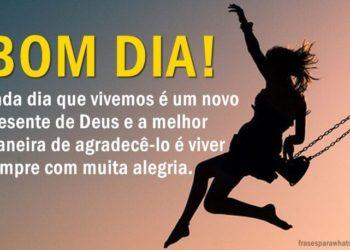 O Dia é um Presente de Deus
