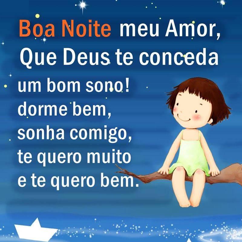 Boa Noite Meu Amor Durma Bem Frases Para Whatsapp
