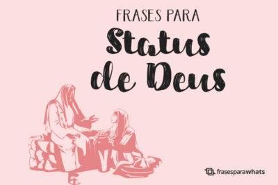 Frases para Status de Deus 16