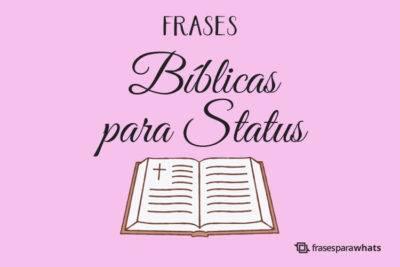 Frases Bíblicas para Status 1