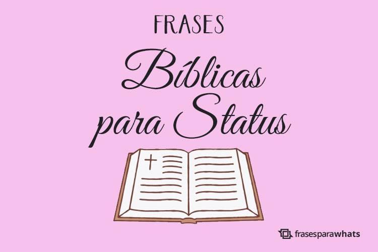 Frases Bíblicas para Status