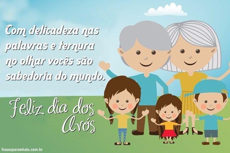 Mensagem Dia Das Avos: Frases Para Dia Dos Avós