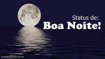 Frases de Boa Noite para Status 6