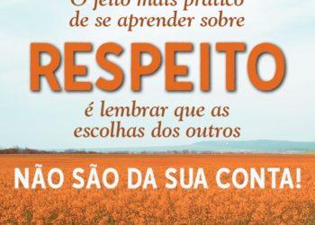 Aprendendo sobre o Respeito