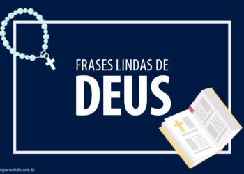 Frases Lindas de Deus