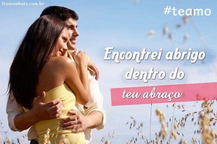 Amo o seu Abraço!