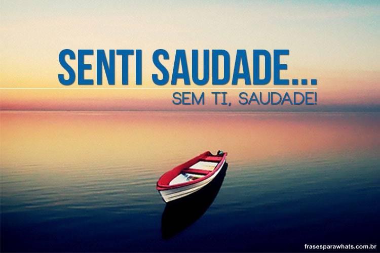 Sem ti, Saudade!