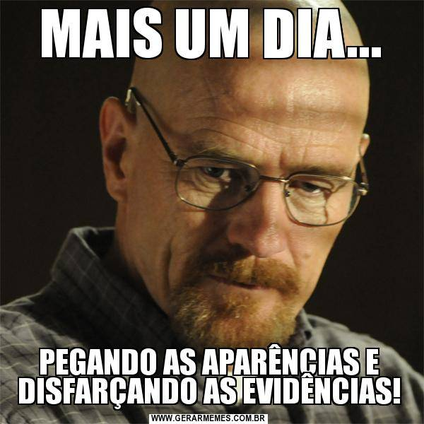 Disfarçando as Evidências... 1