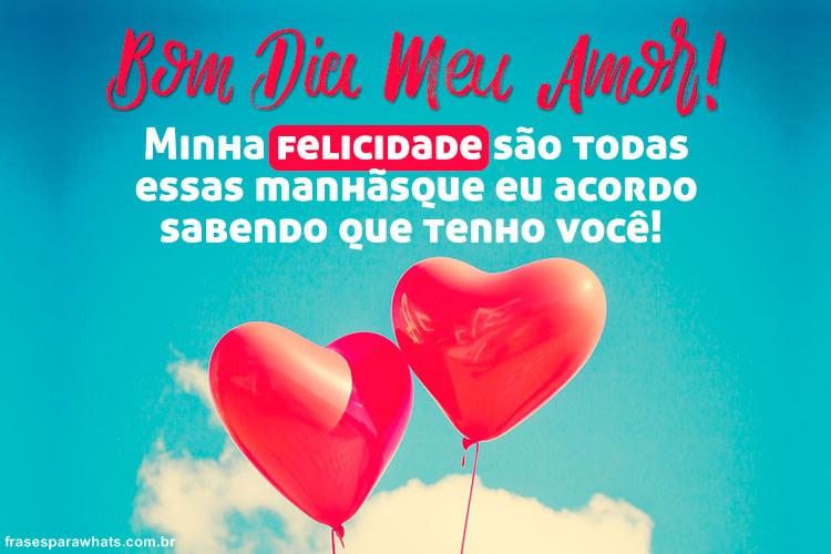 Bom Dia Meu Amor Frases Para Whatsapp