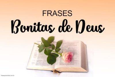 Frases Bonitas de Deus 12