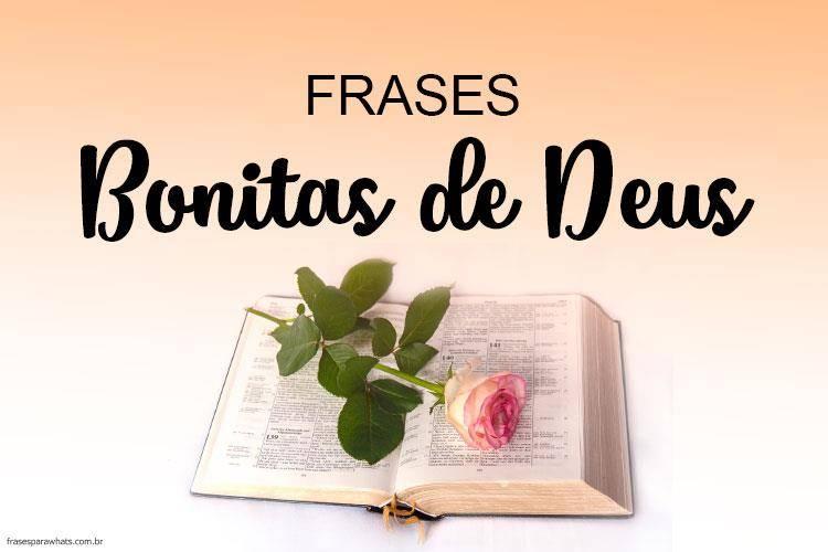 Frases Bonitas de Deus