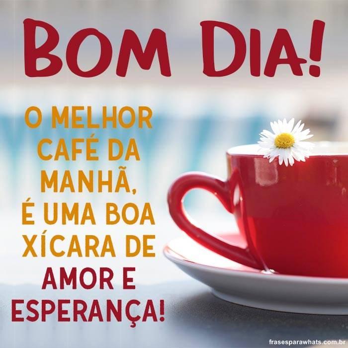 Bom Dia Com Café Frases Para Whatsapp