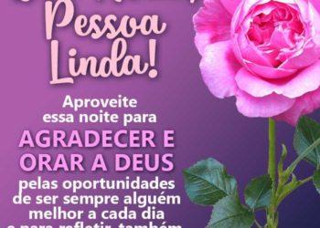 Boa Noite, Pessoa Linda