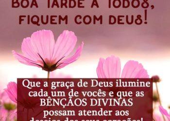 Boa Tarde a Todos, Fiquem Com Deus
