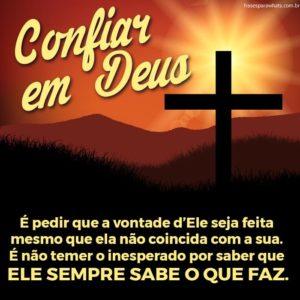 Confiança em Deus 5