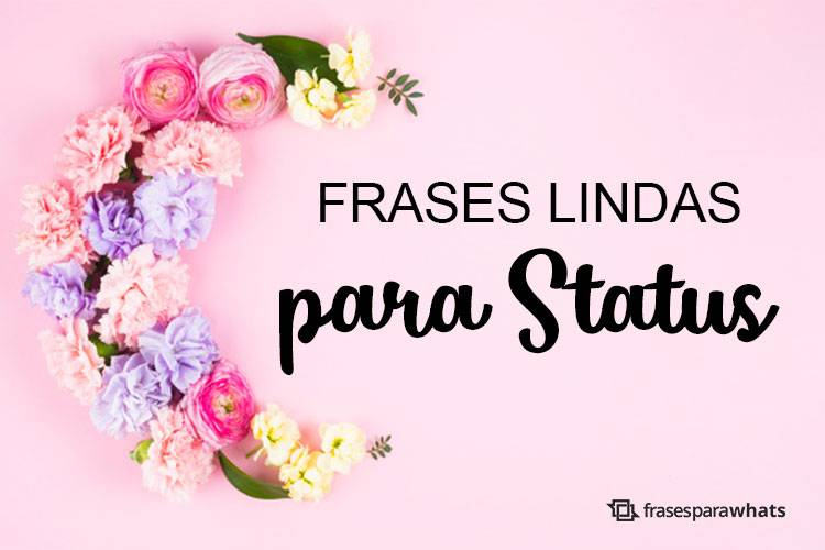 Frases Lindas Para Status Frases Para Whats
