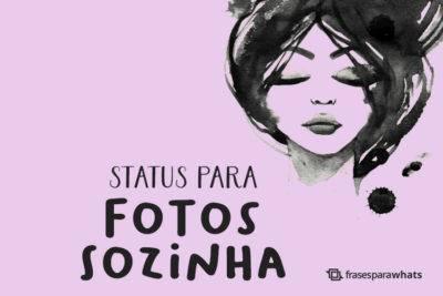 Status para Fotos Sozinha 22