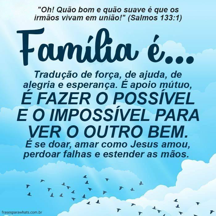 Texto Bíblico sobre Família 3