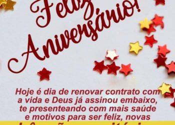 Mensagem de Aniversário Evangélica